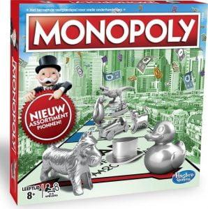 Monopoly Classic Nederland; Bordspel geschikt voor 2 tot 6 spelers vanaf 8 jaar. Speelduur: +/- 60 minuten.