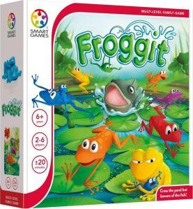 Froggit; Strategisch bordspel voor kinderen van 6-12 jaar; Smart Games; Genomineerd voor Speelgoed van het Jaar 2020