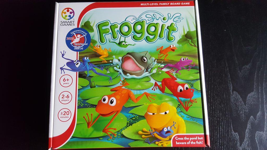 Froggit van Smart Games; Genomineerd voor Speelgoed van het Jaar 2020 in de categorie 6 & 7 jaar