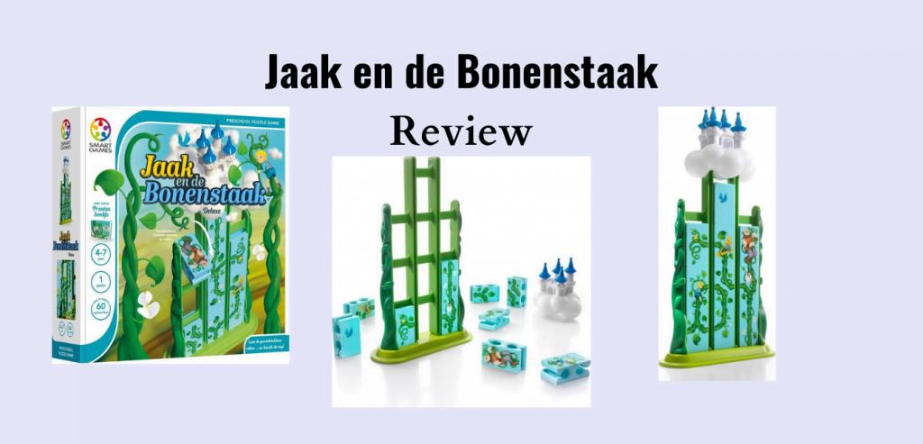 Review Jaak en de Bonenstaak van Smart Games; Puzzelspel voor kinderen van 4-7 jaar en genomineerd voor Speelgoed van het Jaar 2020