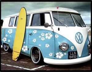 Diamond painting Volkswagen busje