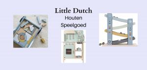 Het mooiste houten speelgoed van Little Dutch