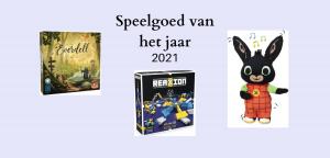 Winnaars verkiezing speelgoed van het jaar 2021